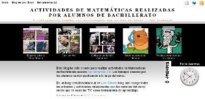 Actividades de Matemáticas y trabajos presentados